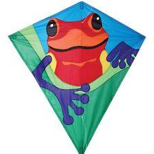 "Kite Poison Dart Frog Diamond 30"" Single Line Kite Winder String..11... PR 15444"