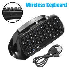 Mini Wireless Keyboard Keypad Chatpad For Sony PlayStation 4 PS4 Controller