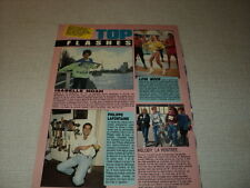 H163 LOVA MOOR MELODY PHILIPPE LAFONTAINE ISABELLE NOAH '1989 FRENCH CLIPPING