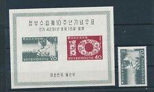 Südkorea Block 126 -Kinder ** /MNH -700,- Michel selten !(B196)