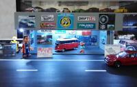 Diorama Garage Shop 1/64