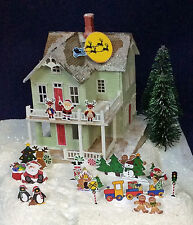 UP ON THE HOUSE TOP - A Doll House for Your Doll House 1:144 Scale Kit GL3416