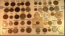 50 Coins 50 Countries World Coin Lot Silver Every Lot