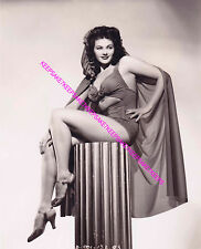 """ACTRESS YVONNE DE CARLO """"LILY MUNSTER"""" LOVELY LEGS AND FEET LEGGY PHOTO A-YD6"""