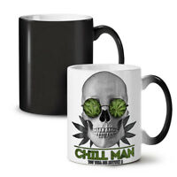 Chill Weed Stoner Rasta NEW Colour Changing Tea Coffee Mug 11 oz | Wellcoda