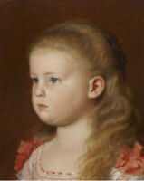 """high quality oil painting  handpainted on canvas"""" Portrait of a Girl"""""""