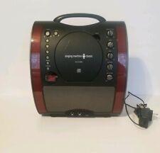Singing Machine SML343BK Front Loading Karaoke Machine With CD Player