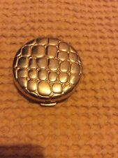 Estee Lauder Lucidity Gold Alligator Powder Compact Collectable Empty