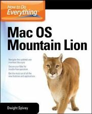 How to Do Everything Mac OS X Mountain Lion-ExLibrary