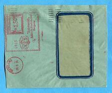 1937 BERGAMO - ITALCEMENTI....(con LOGO) £.1,50 su busta  3 PORTI (256105)