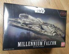 Plastic Model Star Wars Millennium Falcon 1/144 Bandai New Unopened MIB