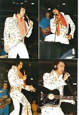 Elvis Presley 8 Photo Set-White Jumpsuit & Gold Sunburst 1973- FREE LIVE CD!