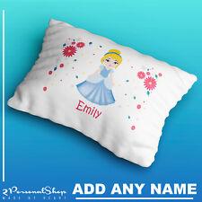 Personalised Princess Pillowcase Children Printed Gift Custom Print New Present