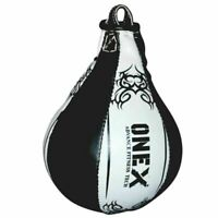 Boxing Bag MMA Leather Speed Ball Punch Bag Training Martial Arts Gym Exercise