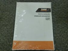 Case Model CX460 Tier 3 Crawler Excavator Parts Catalog Manual Book