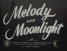 MELODY AND MOONLIGHT 1940 (DVD) JOHNNY DOWNS