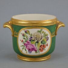 Petit cachet-pot en porcelaine polychrome de Paris Decor main