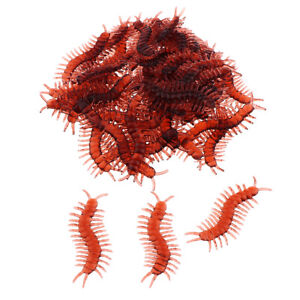 100Pieces Simulation Insect Halloween Prank Trick Joke Toy Centipede
