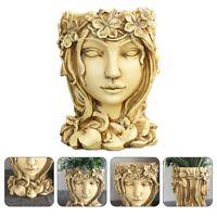 Succulent Plant Pot Goddess Planter Flowerpot Home Garden Bonsai Pot