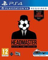 Headmaster: Extra Time Edition - Sony Playstation 4 [PS4 PSVR Soccer Sports] NEW
