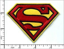Superman Patch Iron Embroidered Logo Dc Comics