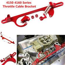Car Truck 4150 4160 Series Billet Aluminum Throttle Cable Bracket Carburetor 350
