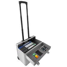 Pilotenkoffer Reisekoffer Reisetrolley Laptopfach Trolley Aluminium - Silber