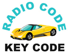 Radio Code für Nissan Micra Qashquai Note Juke Connectez Almera Daewoo Key Code