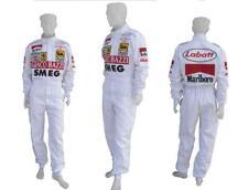 Gilles Villeneuve 1970 SMEG replica embroidered patches go kart race suit