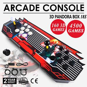 4500 Pandora's Box 18S Console de jeux d'arcade vidéo rétro TV PC double bâtons