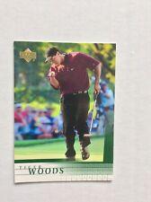 Tiger Woods 2001 Upper Deck UD #1 Rookie Very Nice!!!