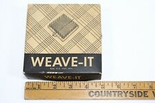 Vintage Weave-It, Donar Products Corp - Wooden Loom,