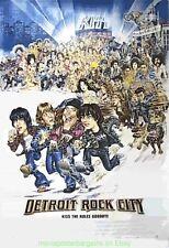 DETRIOT ROCK CITY MOVIE POSTER  Original SS 27x40 KISS CONCERT !! 1999