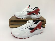 Nike Huarache Run (GS) Running Shoes Red, White 654275-102 Youth Size 3.5Y NEW