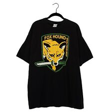 Metal Gear Solid 4 Fox Hound Special Forces Group Men's Tee T Shirt Size XL