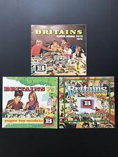 More details for britains super toy model catalogue~ vintage collectibles bundle x3~1972, 73, 74