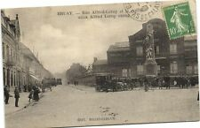 CPA Bruay- Rue Alfred Leroy et le cercle (180762)