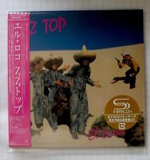 ZZ TOP - El Loco JAPAN SHM MINI LP CD OBI NEU! WPCR-15173