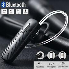 Wireless Headset Bluetooth Handsfree Stereo Headphone Earpiece UK - Black/White