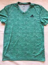 Adidas Mens Climalite Athletic Short Sleeve Shirt Size L