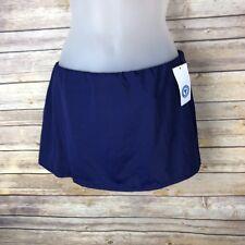 South Point Womens Skirted Swim Bottom Bikini Tankini Separate Navy Blue Size 10
