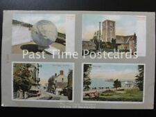 c1908 - Four post-cards in Miniature - VIEWS OF SWANAGE - ALL IMAGES SHOWN