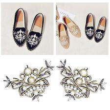 2er-pack cristal zapato remolque pedrería zapato clips joyas de zapatos zapato hebilla