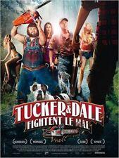 Affiche Pliée 120x160cm TUCKER ET DALE FIGHTENT LE MAL (2012) Tyler Labine BE