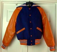 Blue and Orange Letter Jacket Petite Very small size