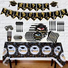 Disposable Tableware Sets Graduation Theme Celebration Party Supplie Party Decor