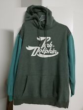 Pink Dolphin Hoodie Pullover Sweater Mens Big Print Size 2XL