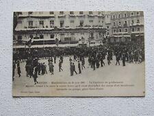 CPA : NANTES - MANIFESTATIONS du 14 JUIN 1903 - Le Capitaine de gendarmerie ...