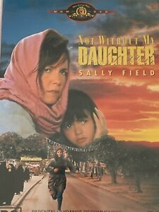 Not Without My Daughter  Sally Field DVD Like New