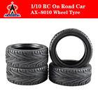 AUSTAR AX-8010 Rubber Wheel Tire  for Traxxas HSP Tamiya HPI Kyosho 1:10 RC Car